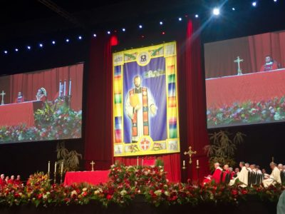 Stanley Mother, Martyr, Beatification, Cox Center, Cardinal Amato